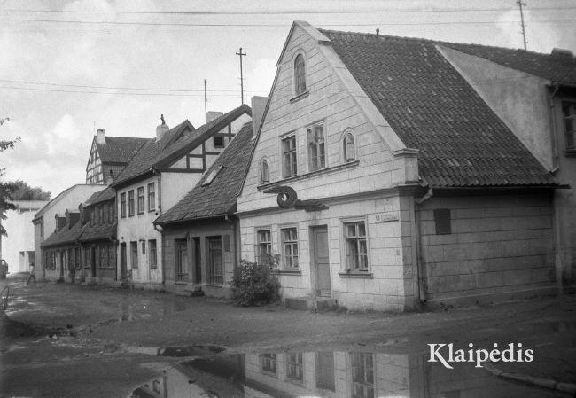 Aukštoji gatvė / Albinas Stubra. Šaltinis: www.klaipedis.lt
